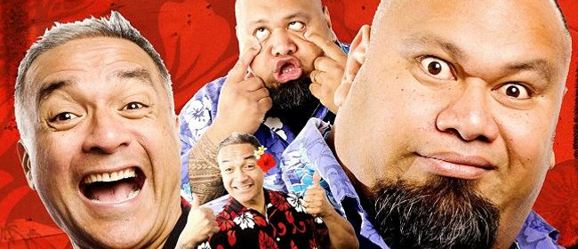 The Laughing Samoans In Funny Chokers