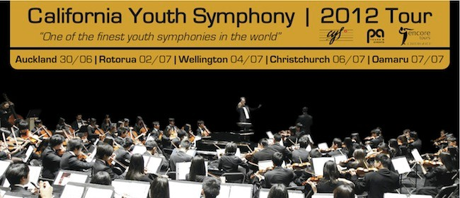 California Youth Symphony Tour