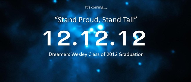 """I Have a Dream"" Graduation 12.12.12"