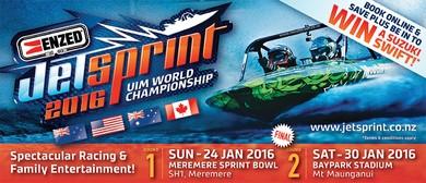 ENZED 2016 UIM Jetsprint World Championship